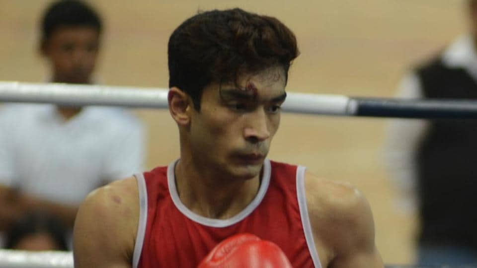 File image of Indian boxer Shiva Thapa.