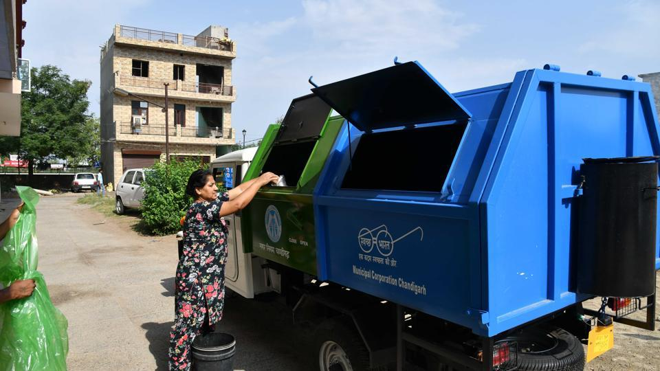 The Chandigarh municipal corporation on Wednesday released a public notice making waste segregation mandatory in the city from October 12.