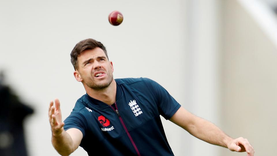 File image of James Anderson
