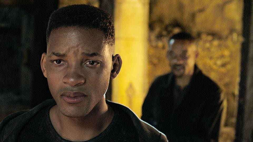The movie features Will Smith's digitally created clone tasked with assassinating him.