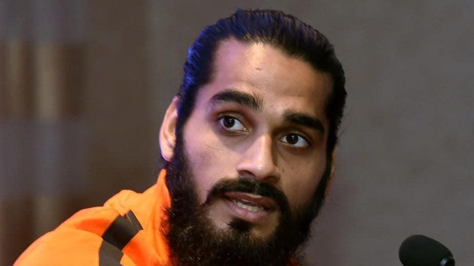 File image of India defender Sandesh Jhingan.