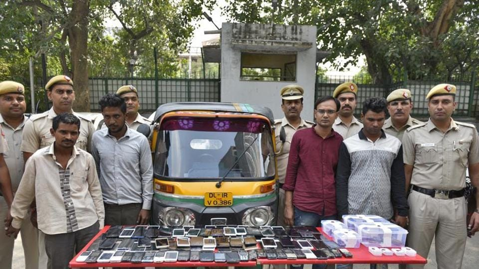 Of the recovered cellphones, more than 50 were stolen from DTC buses plying on Mathura Road.