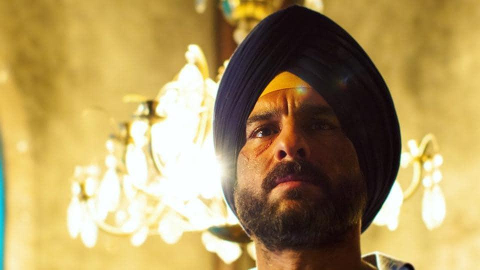 Saif Ali Khan in a still from Netflix's Sacred Games season 2.