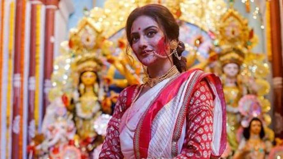 Nusrat Jahan had drawn the ire of a cleric for celebrating Durga Puja.
