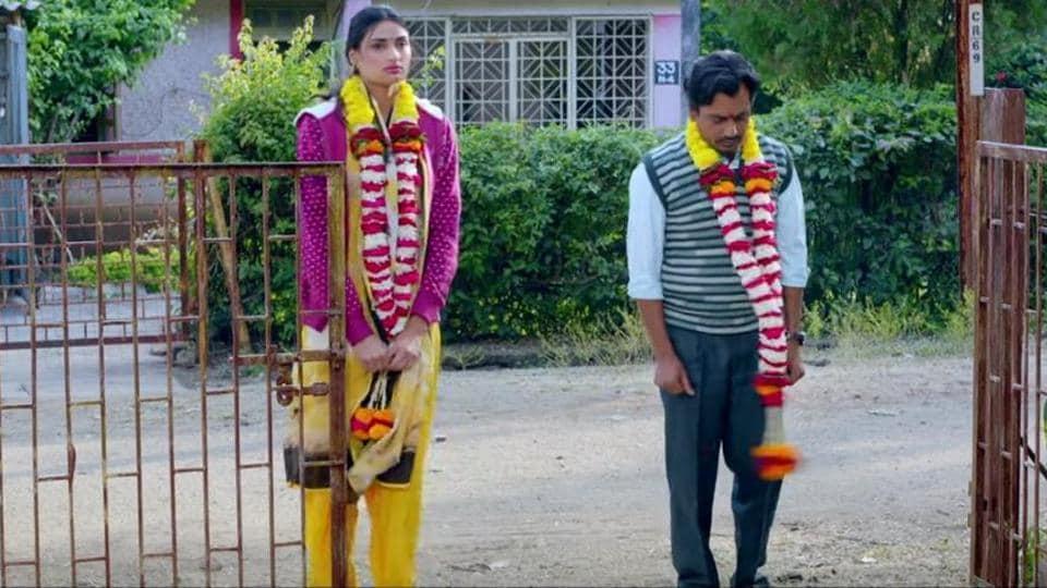 Motichoor Chaknachoor trailer: Nawazuddin Siddiqui and Athiya Shetty play lead characters in the film.