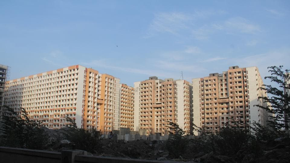 While 18 out of the 46 floors have been completed in Phase-1 consisting of four wings, no work has been done in Phase-2 which also has three wings.