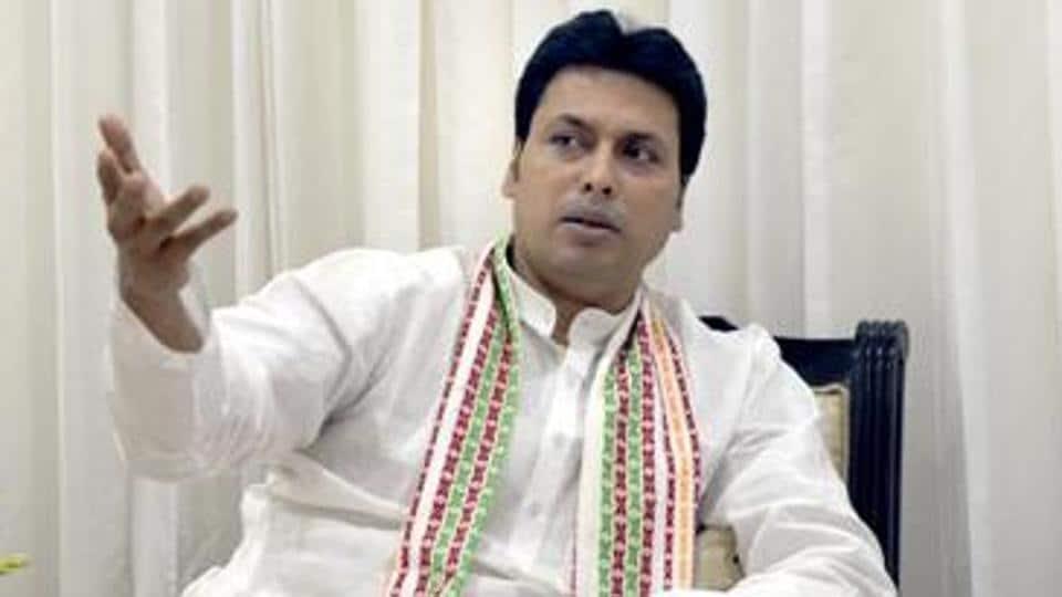 Tripura Chief Minister Biplab Kumar Deb.