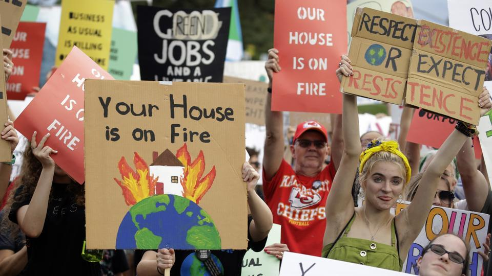 Climate change activists sought to shut down London City Airport on Thursday as part of their wave of protests worldwide.