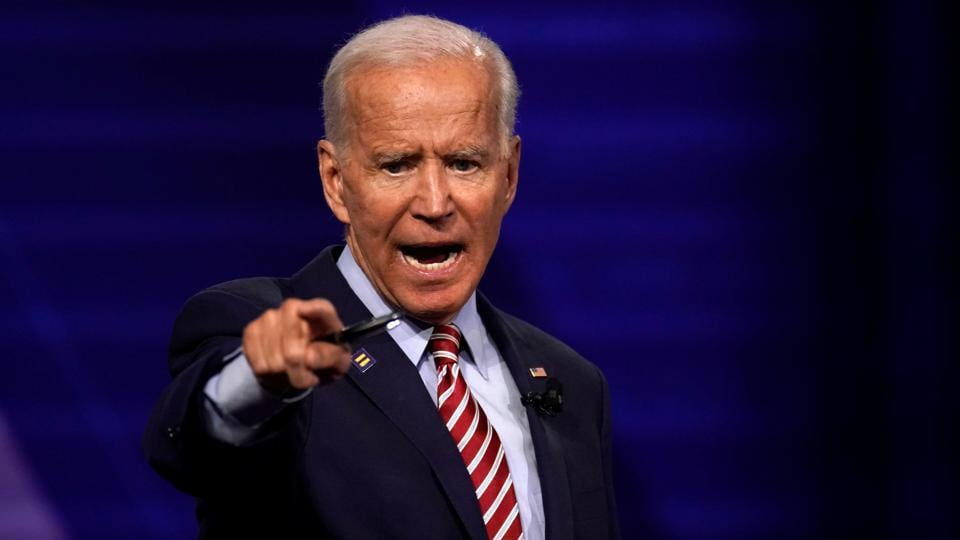 Former US vice president and Democratic presidential frontrunner Joe Biden said Donald Trump sold out the courageous Kurds and Arabs who fought with America to smash ISIS's caliphate.