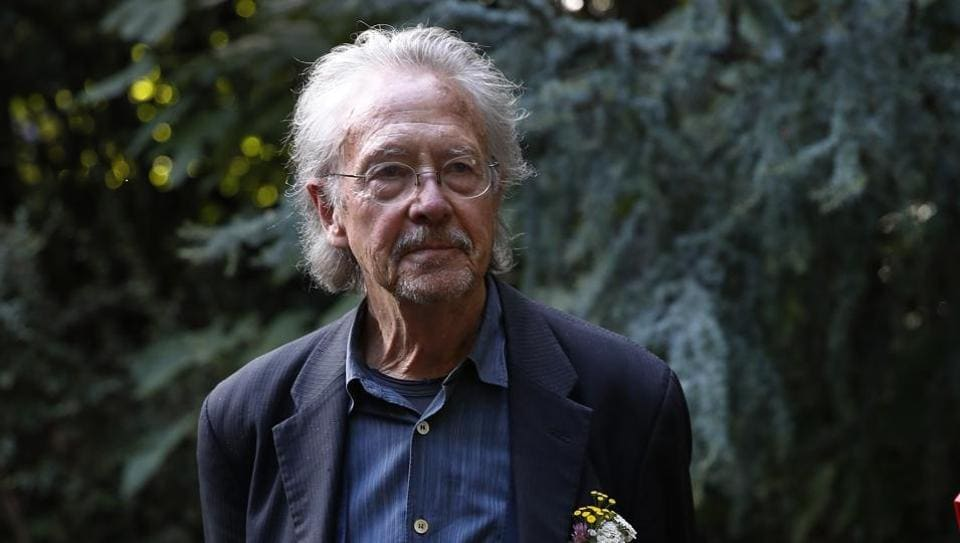 Austrian writer Peter Handke received 2019 Nobel Literature Prize on October 10.
