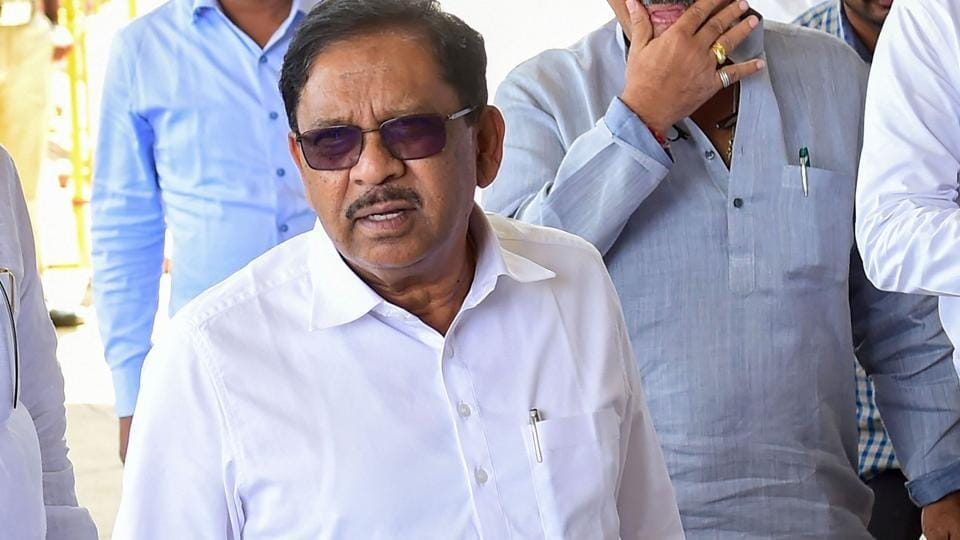 The income tax department on Thursday conducted raids at former Karnataka deputy chief minister and senior Congress leader G Parameshwara's house.