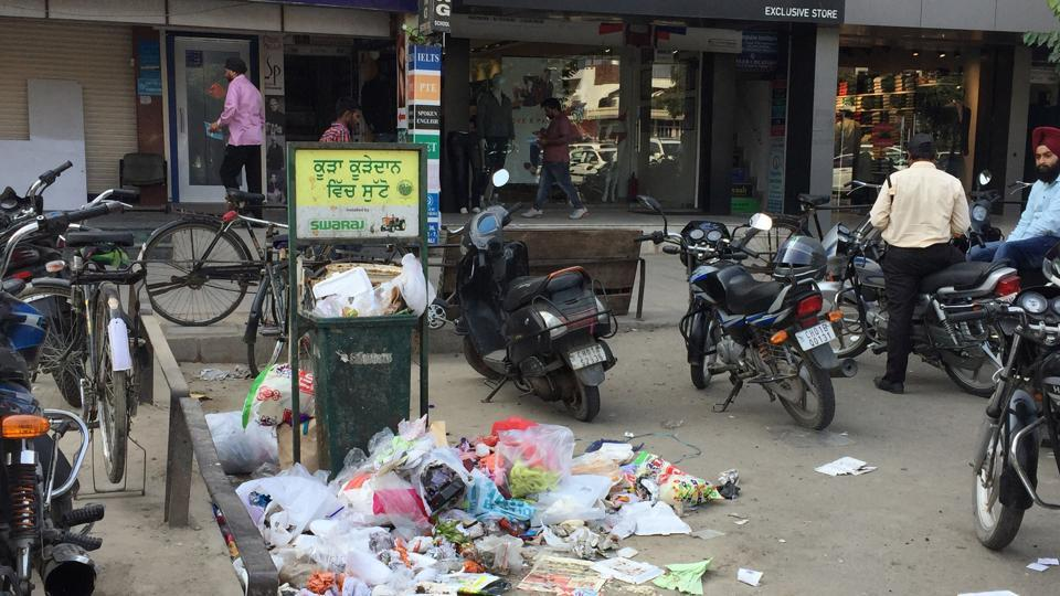 Littering will invite a fine of Rs 1,000.