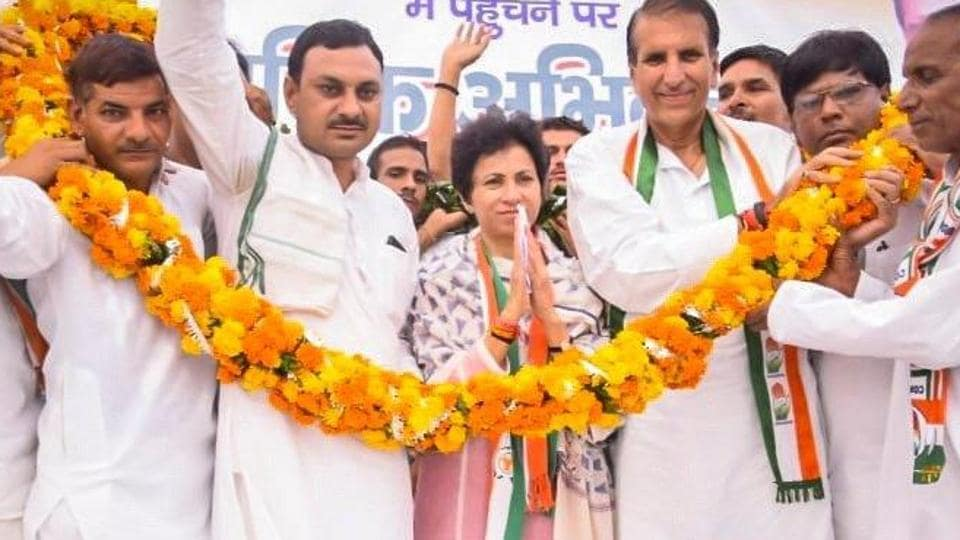 Kumari Selja is the first woman chief of Congress' Haryana unit.