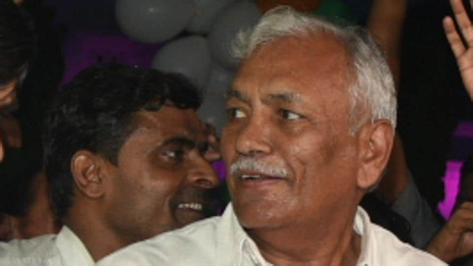 Delhi Assembly Speaker Ram Niwas Goel, his son Sumit Goel and three others convicted of violating section 448 of the IPC.