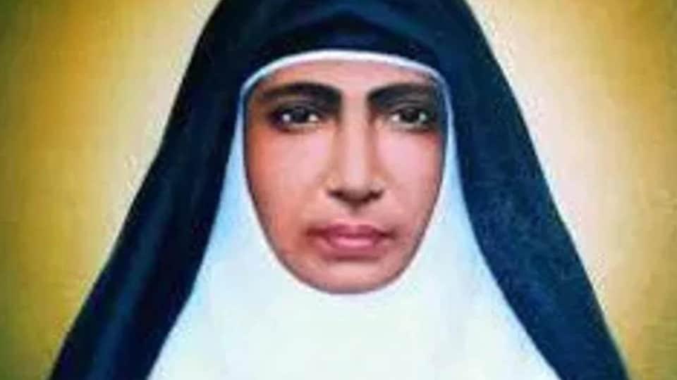 Kerala nun Mariam Thresia .