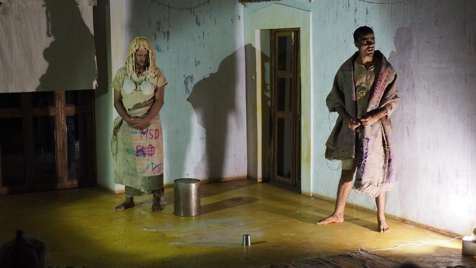 A still from the play 'The Island'
