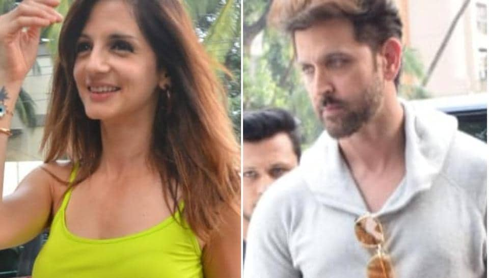 Hrithik Roshan and Sussanne Khan were married from 2000 to 2014.