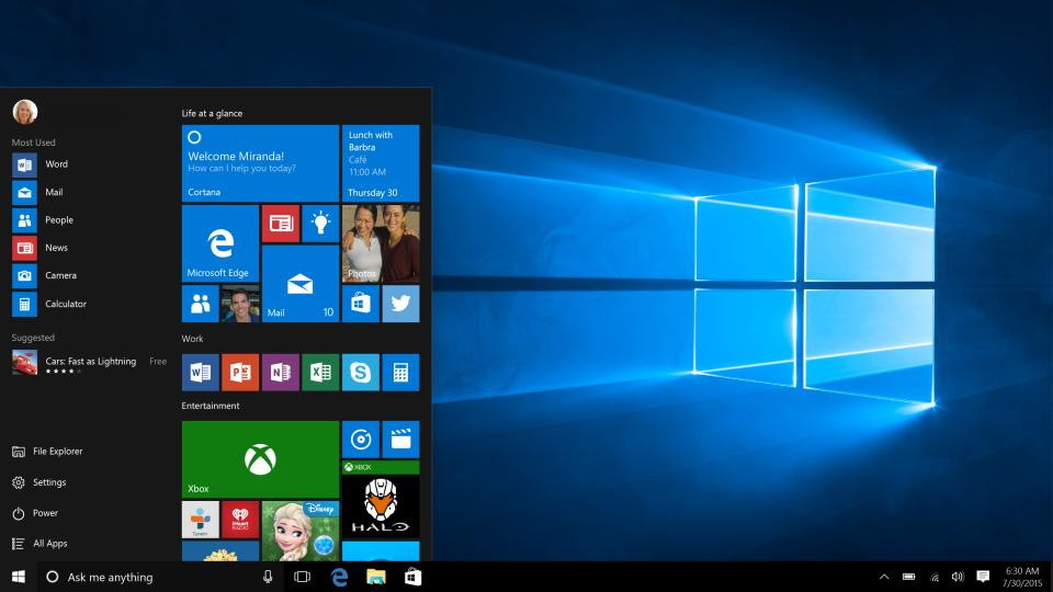 Windows 10's latest update is troubling the Microsoft Edge, Start menu