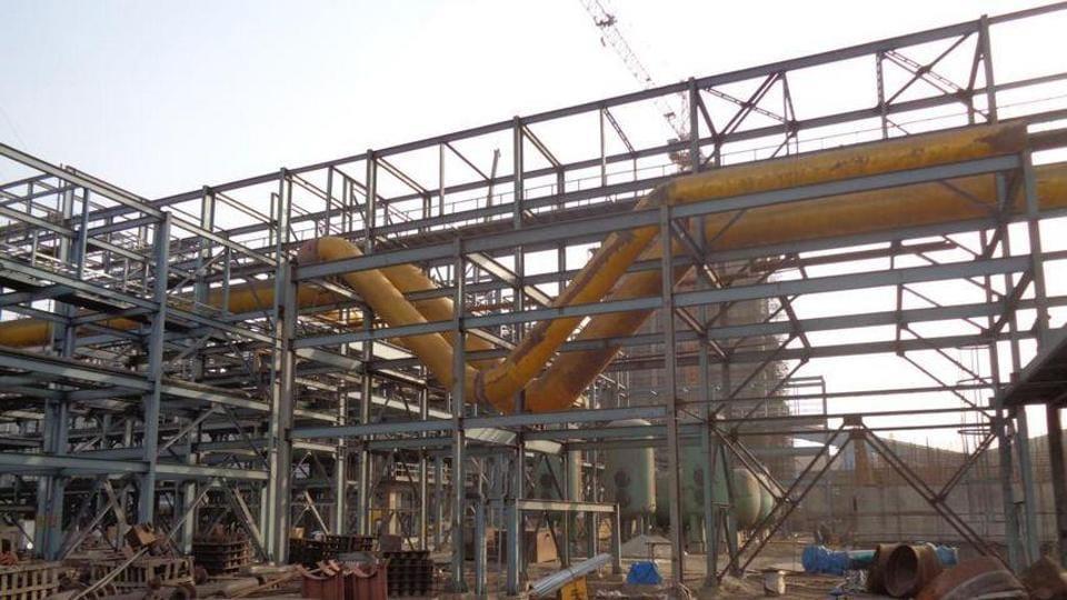 BPSL'sblast furnace at its Odisha plant.