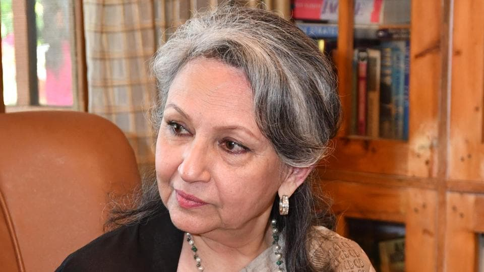 Sharmila Tagore was the star attraction on Day 2 of the literary festival.