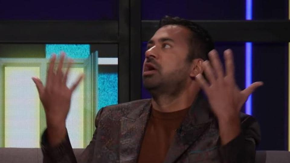 Kal Penn during an appearance on Lilly Singh's show.