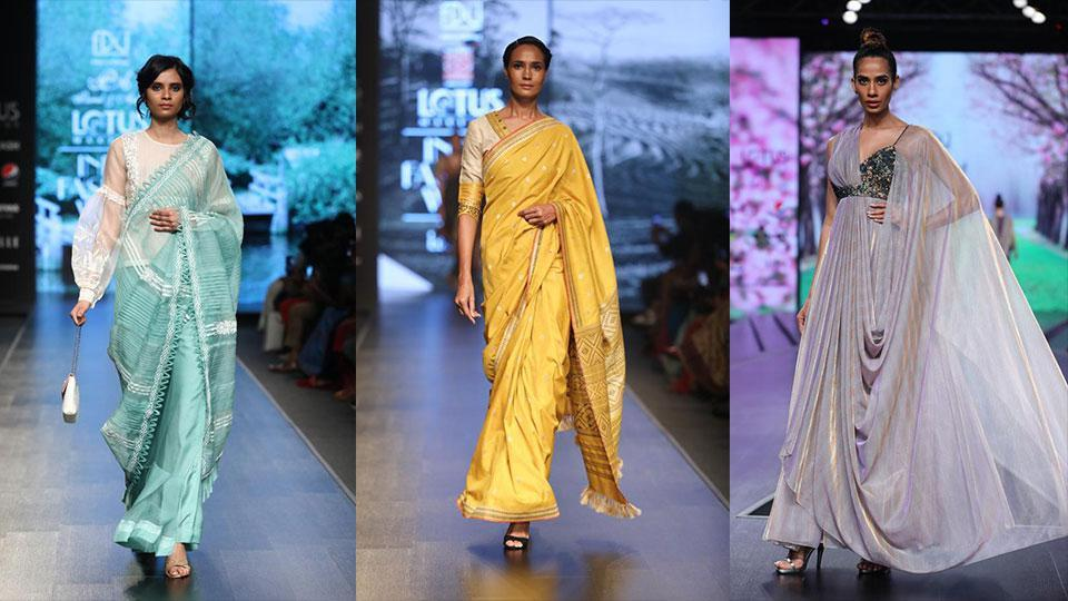 Shruti Sancheti presented an ethereal, pastel-hued line, Falguni Shane Peacock brought back the swinging '70s glamour on the ramp with statement prints and sequins.