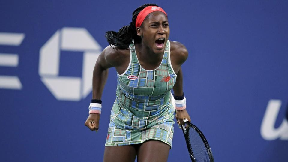 File photo of Coco Gauff during the US Open.