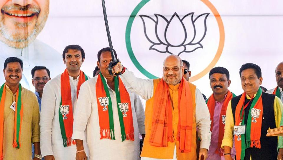 Shah blamed the Congress and said the party is responsible for delaying the process of integrating Jammu and Kashmir with India for several years.