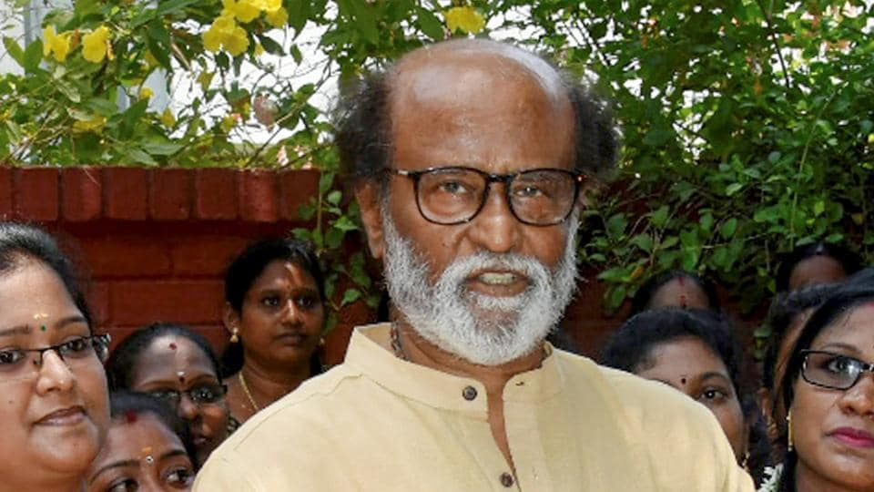 Since the announcement of his decision to venture into politics, Rajinikanth has acted in and signed on five movies.