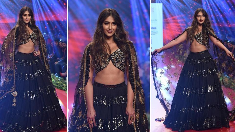 Ileana D'Cruz turned a showstopper for Vikram Phadnis at a fashion show in Mumbai onSunday.