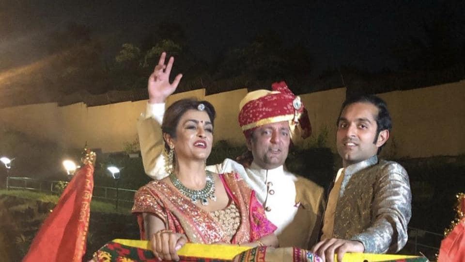 Chhaya, Nirmal and Dheer Momaya.