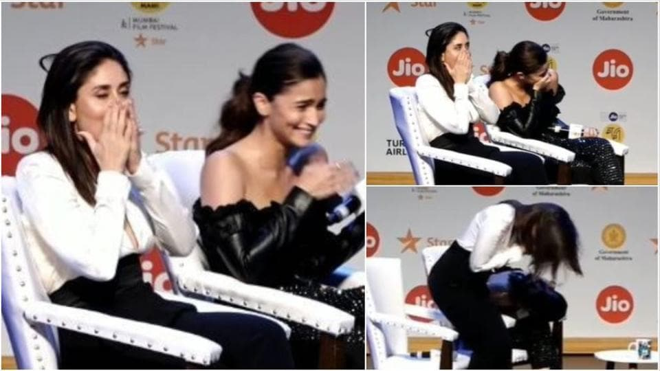 Alia Bhatt left Kareena Kapoor shocked at the MAMI stage.