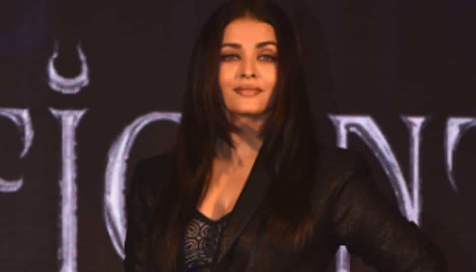 Aishwarya Rai turns gothic at trailer launch of 'Maleficent Mistress of Evil'