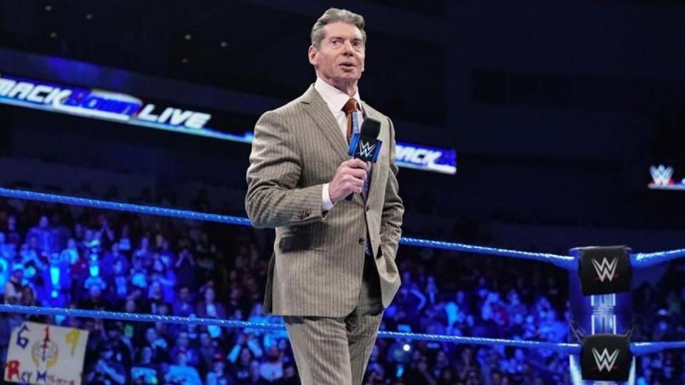WWE Chairman Vince McMahon.