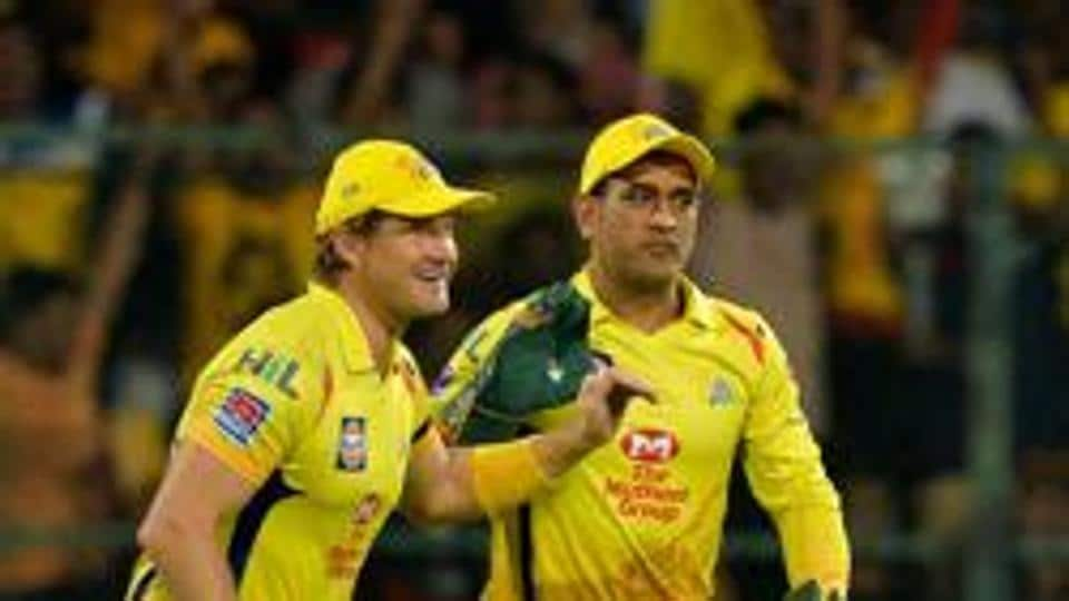 File image of Shane Watson and MS Dhoni.