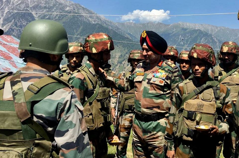General Officer Commanding-in-Chief, Northern Command, Lieutenant General Ranbir Singh has been constantly reviewing the situation in the Kashmir valley.