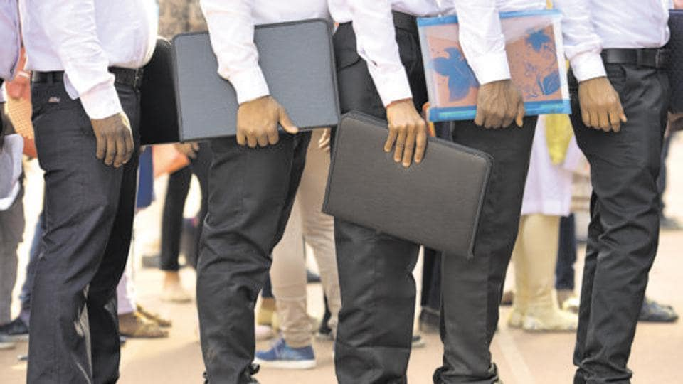 According to the study a majority of the candidates (39.4 per cent) prepare for three or more competitive exams at the same time. (Representational image)