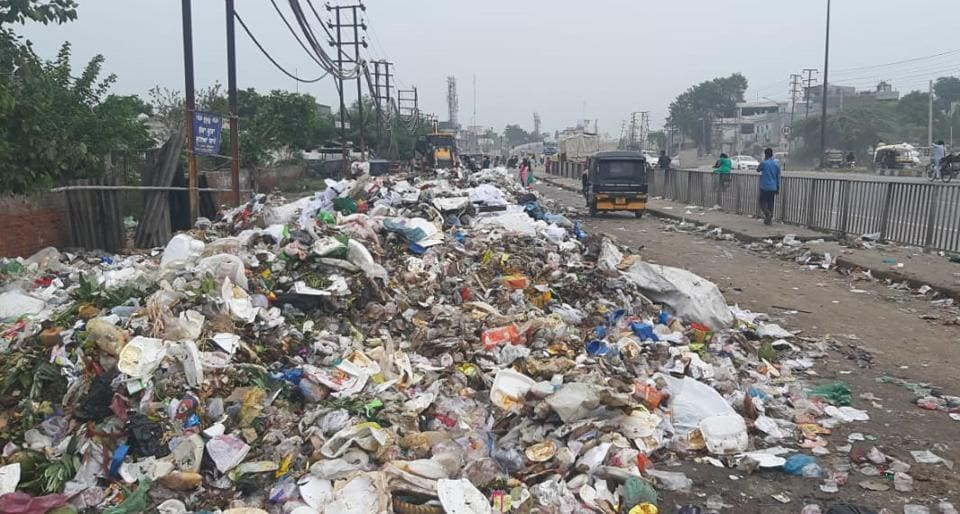 The MC commissioner said that the civic body is serious about resolving the issue but no alternative spaces are available for dumping of waste generated in the area.