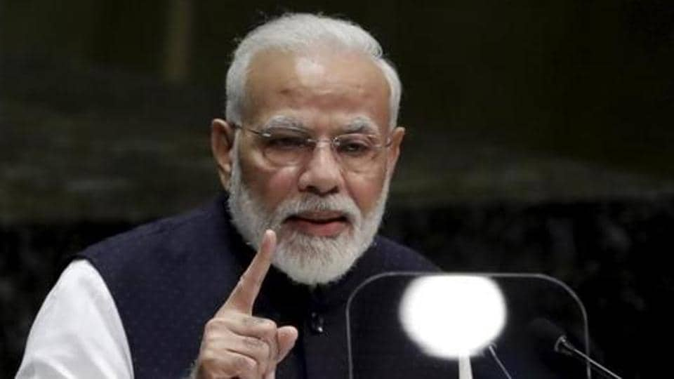Prime Minister Narendra Modi on Sunday condoled the loss of lives in Japan due to Typhoon Hagibis.