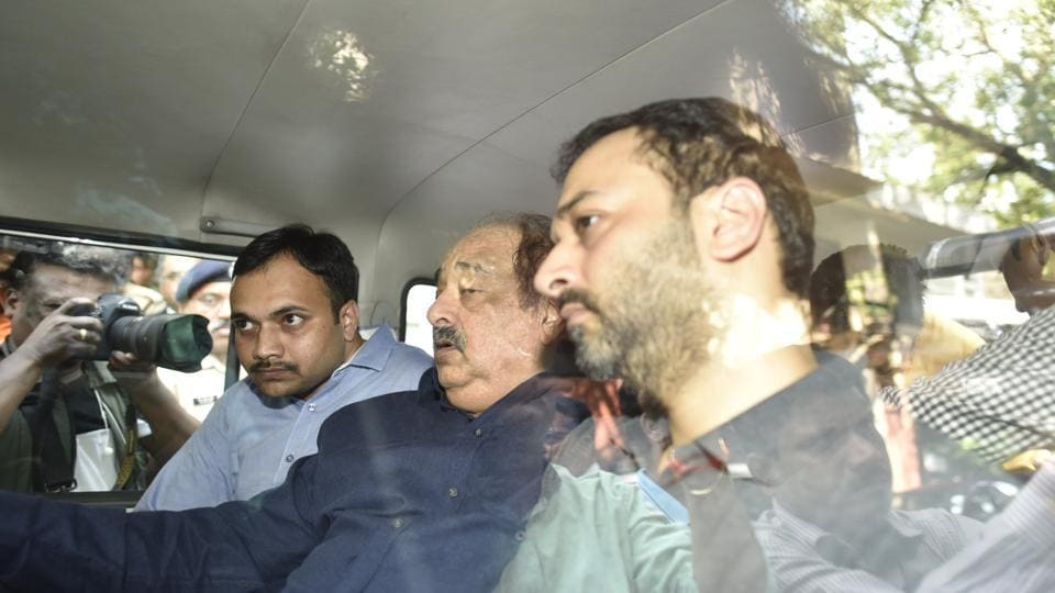 HDIL's Rakesh Wadhwan(C) and Sarang Wadhawan(R) and PMC Banks' Waryam Singh have been arrested in connection with the Rs 4,355 crore PMC Bank fraud case.