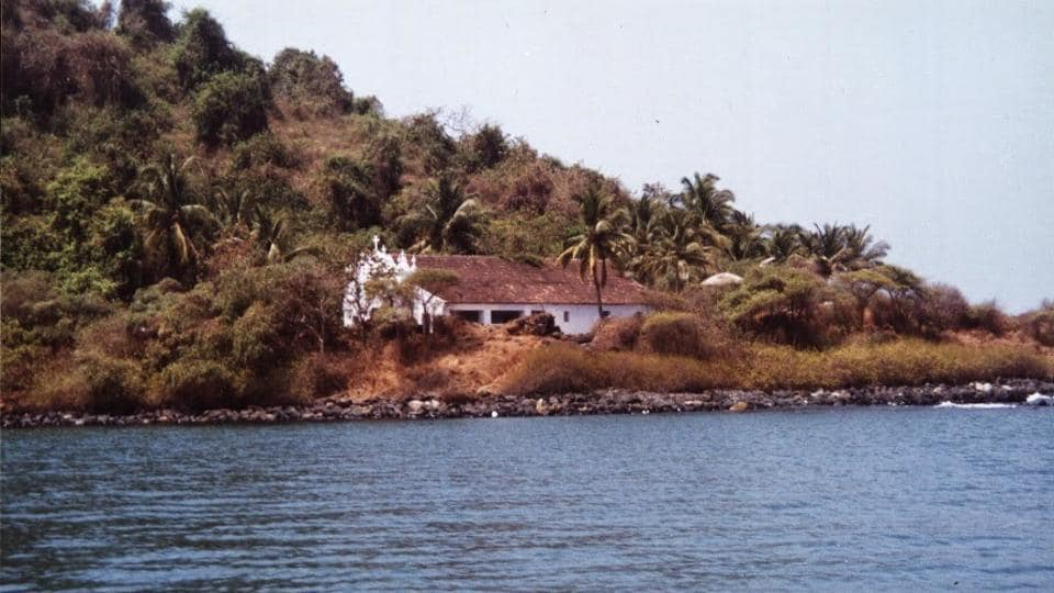 The Anjediva island, off the coast of Karwar in Goa is now under the Indian Navy's control.