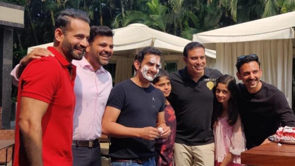 Gautam Gambhir celebrated his birthday on Monday.