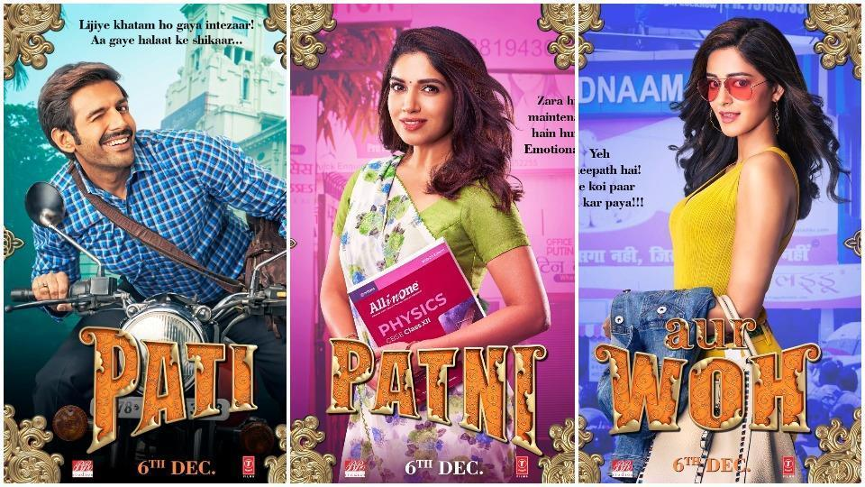 Image result for pati pati aur woh poster""