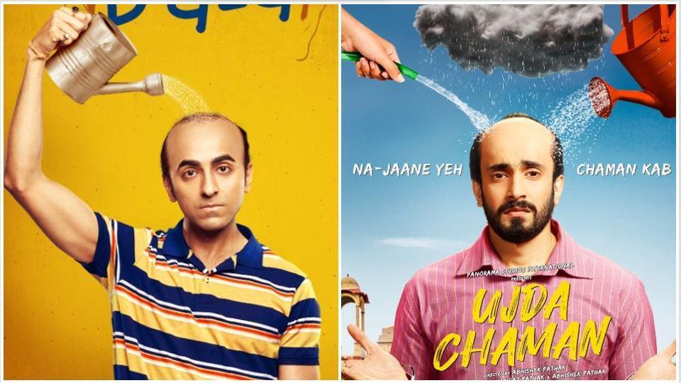 Ujda Chaman and Bala have strikingly similar trailers.