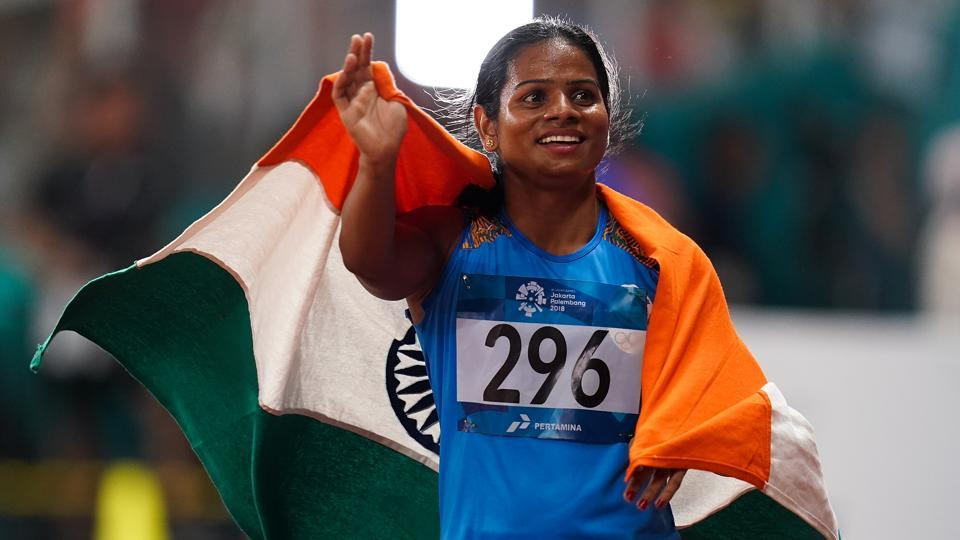 File image of Indian sprinter Dutee Chand.