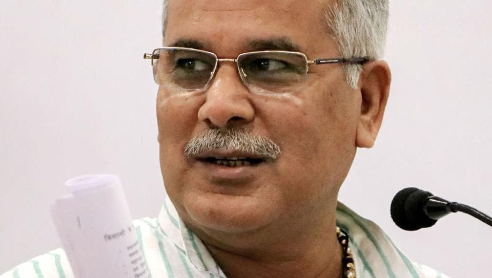Chhattisgarh Chief Minister Bhupesh Baghel writes to Nitin Gadkari for completion of pending roads