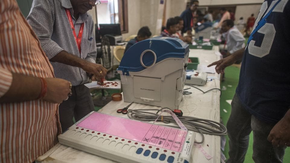 EVM machines gets sealed and ready for the upcoming Assembly Elections.