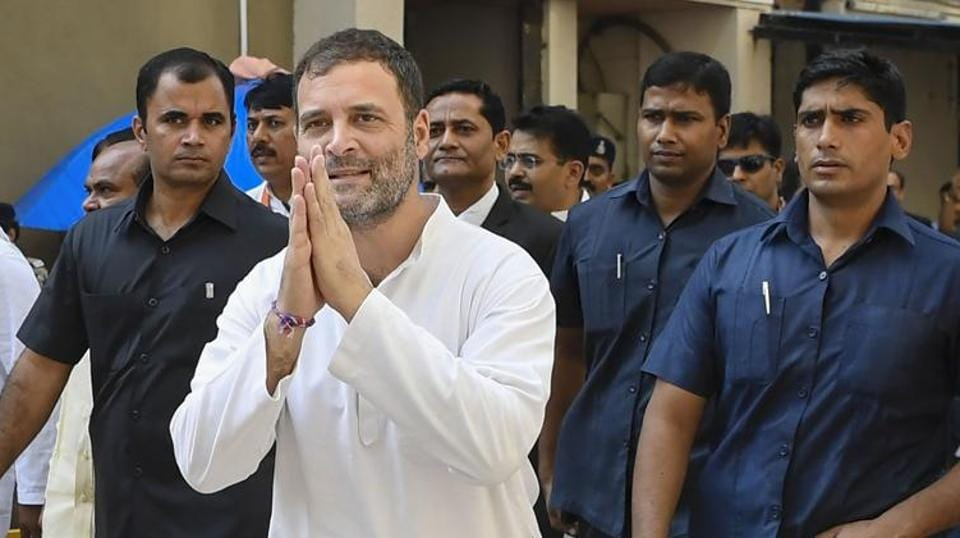 Former Congress President Rahul Gandhi to address meeting in Maharashtra ahead of Assembly polls.