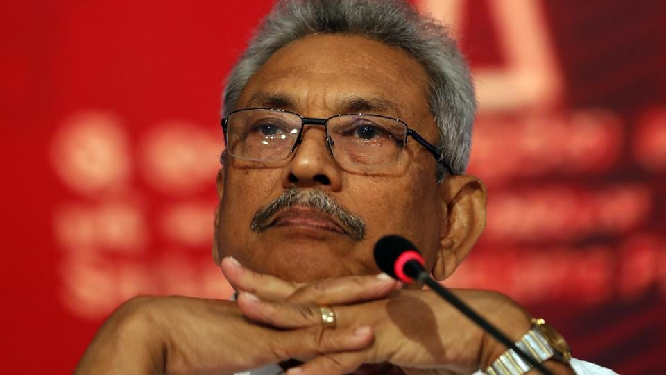 Sri Lankans should look to the future rather than thinking about the past, said Gotabaya Rajapaksa.