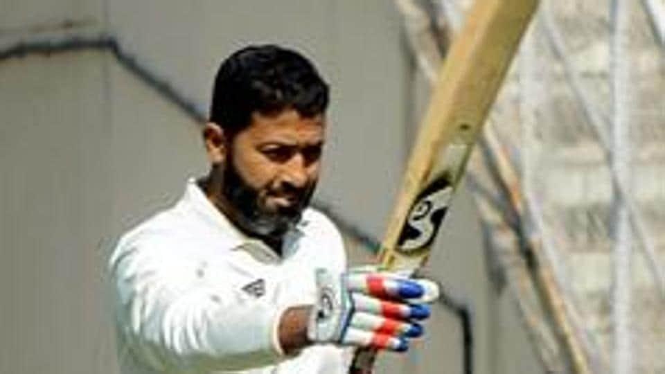 File image of Vidarbha cricketer Wasim Jaffer.